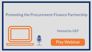 Promoting the Procurement-Finance Partnership: How to Build a Beautiful Friendship