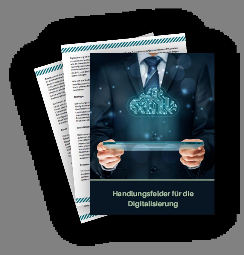 Artikel über Handlungsfelder für die Digitalisierung in den Energieversorgungsunternehmen