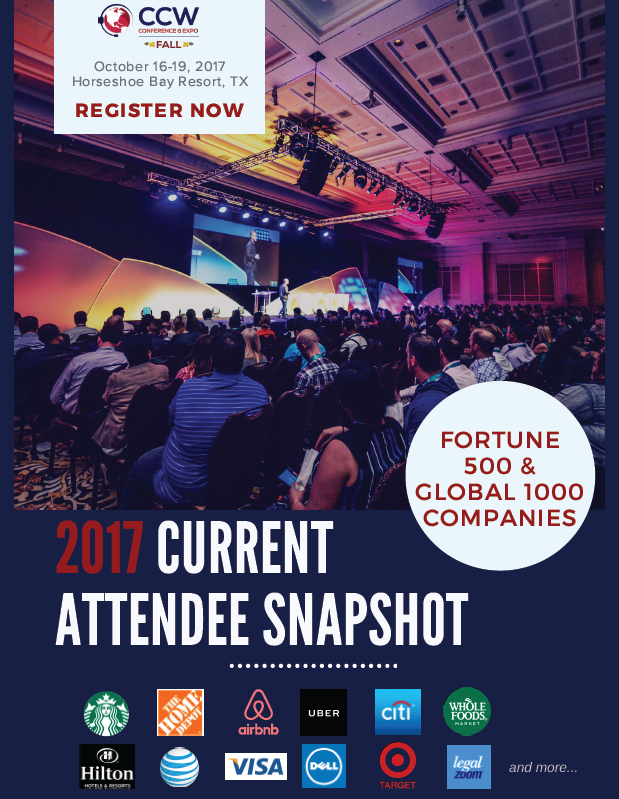 CCW Fall Current Attendee Snapshot