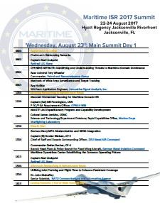 Maritime ISR Summit Onsite Agenda
