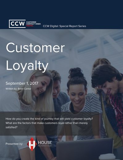 Special Report: Customer Loyalty