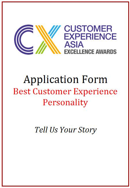 CEM AwardApplication Form - Best Customer Experience Personality