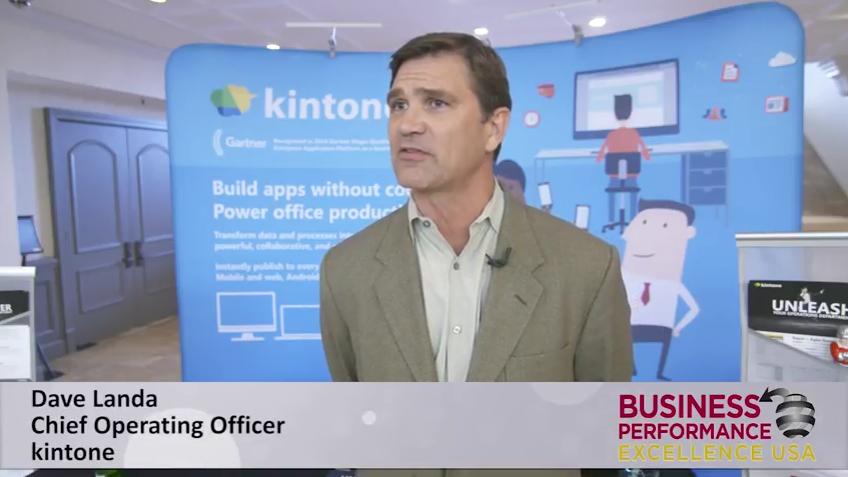 kintone's COO Dave Landa to speak at OPEX Week 2017 on Driving Lean Process