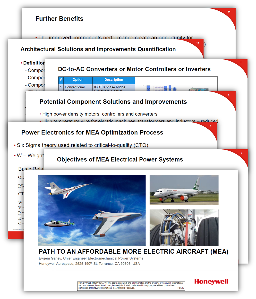 Honeywell Maps the Path to Affordable MEA