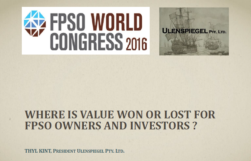 Where Is Value Won Or Lost For FPSO Owners and Investors?