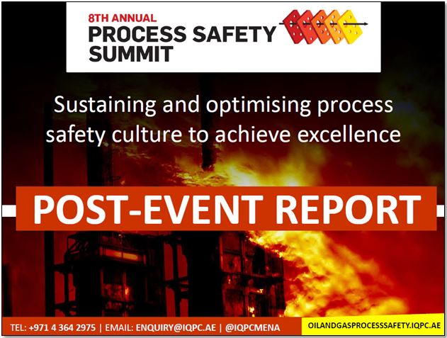 Post-Event Report: 8th Annual Process Safety Summit 2016