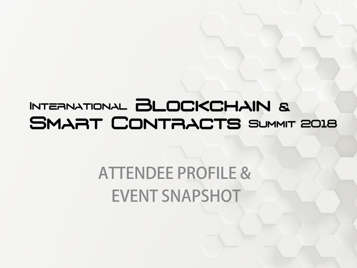 Attendee Profile & Event Snapshot