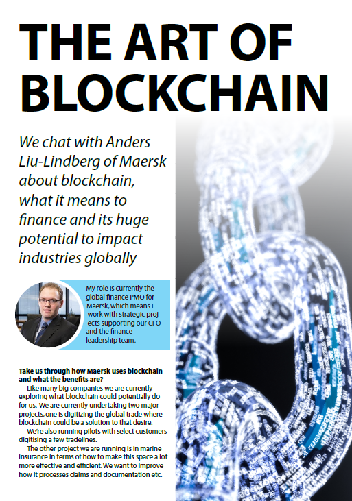 The Art of Blockchain with Maersk's Head of Global Finance