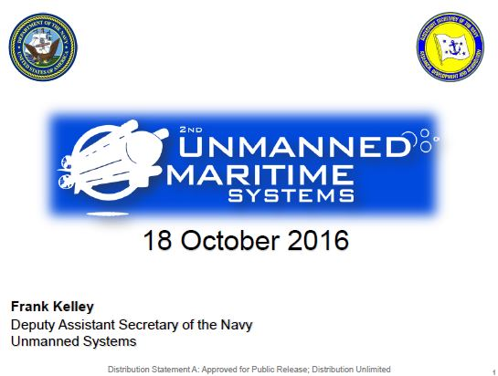 The Future of Unmanned Maritime Systems Across the Department of the Navy