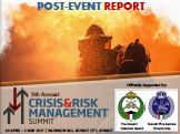 Post-Event Report: 5th Annual Crisis & Risk Management Summit