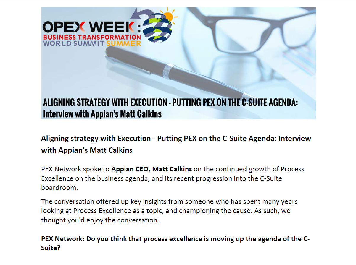 Aligning Strategy with Execution: Putting PEX on the C-Suite Agenda