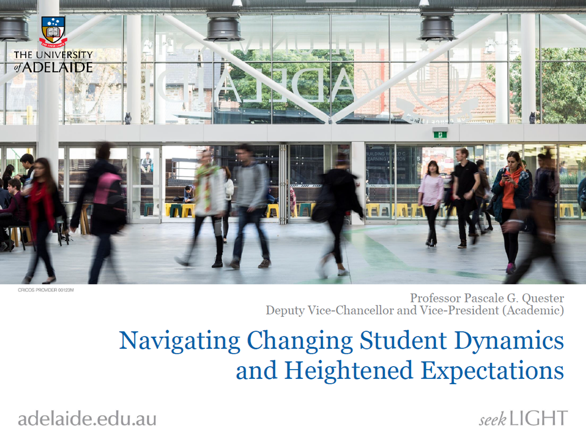 Navigating Changing Student Dynamics and Heightened Expectations for Creating a Learner Centred Environment