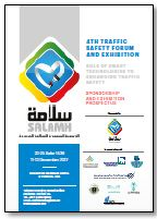 Sponsorship & Exhibition Prospectus: 4th Traffic Safety Forum and Exhibition