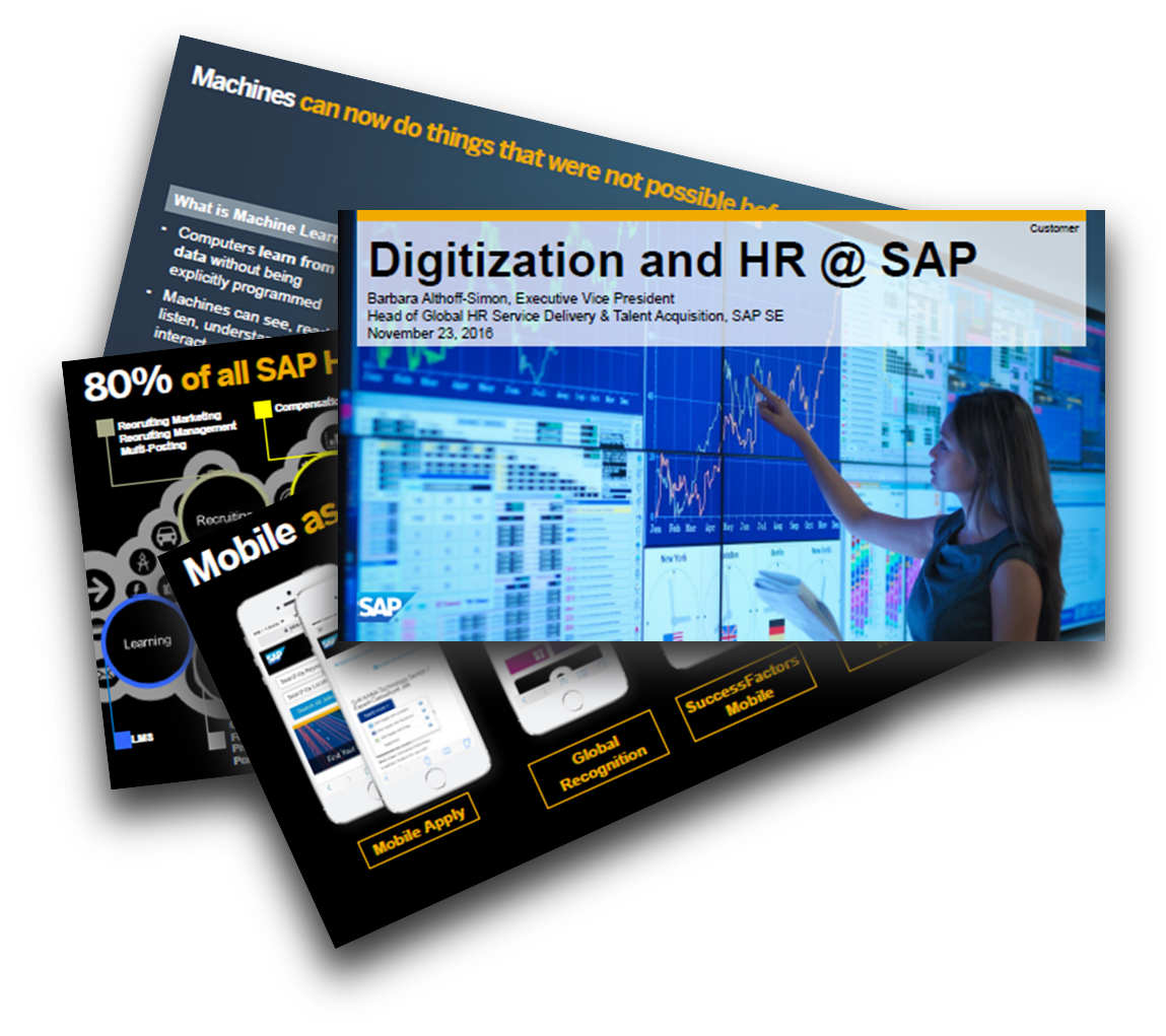 Global HR Service Delivery & Talent Acquisition bei SAP