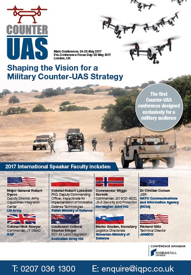 Download the Counter-UAS 2017 Agenda