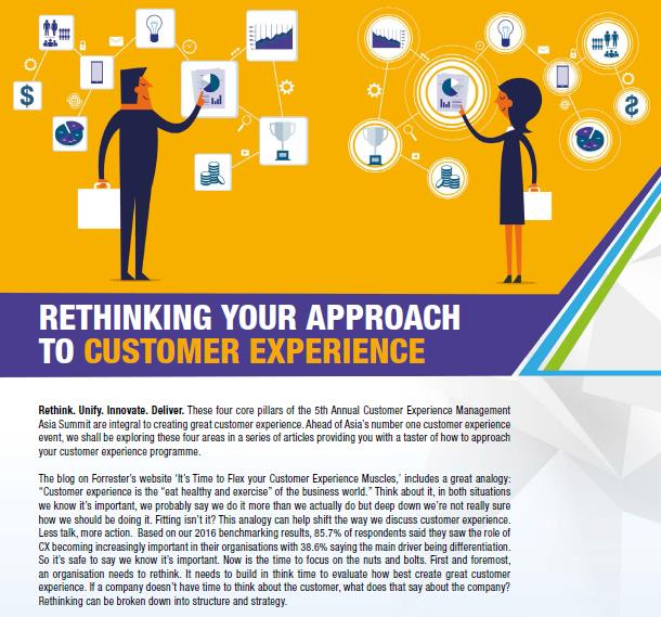 Download the Article - Rethinking Your Approach To Customer Experience