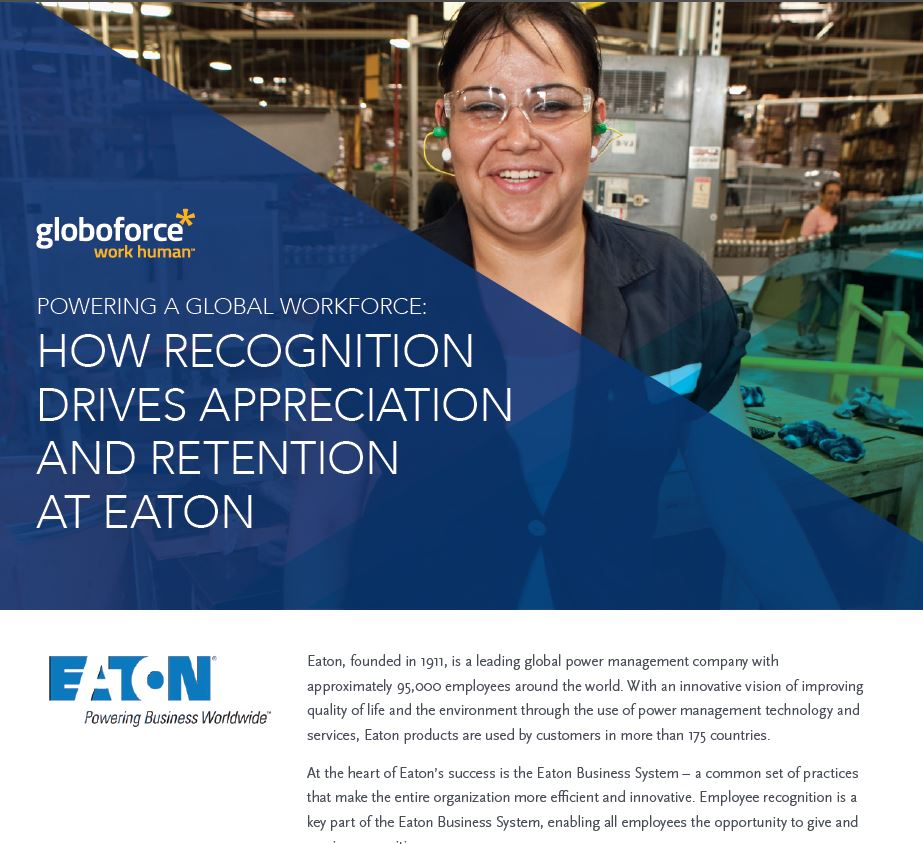 How Recognition Drives Appreciation and Retention at Eaton
