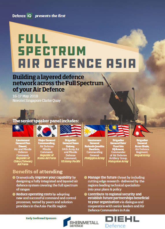 Full Spectrum Air Defence Asia Event Guide