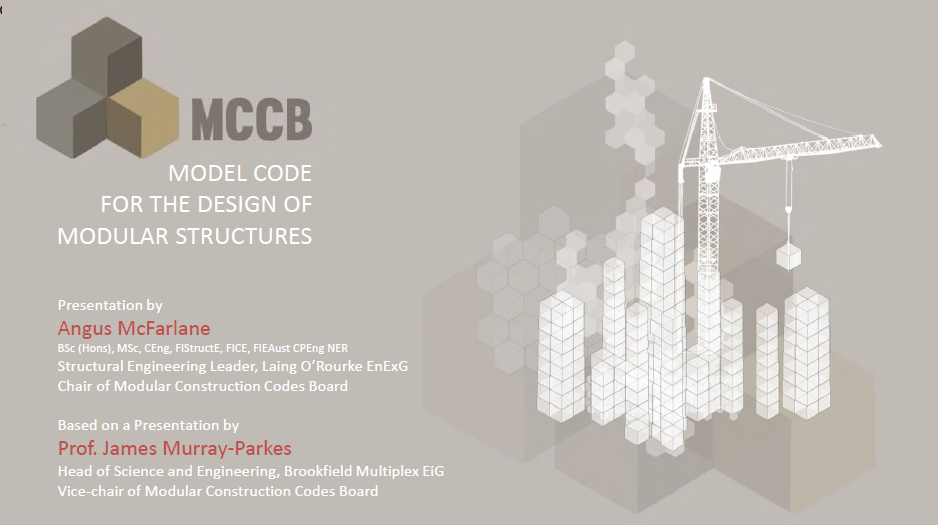 Modular Construction Codes Board (MCCB) Review