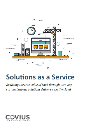Solutions as a Service - Covius Whitepaper