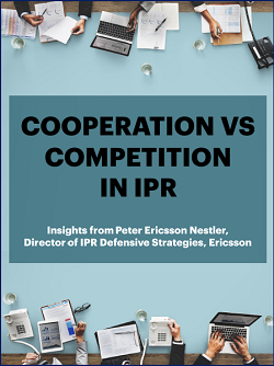 Cooperation vs Competition in IPR