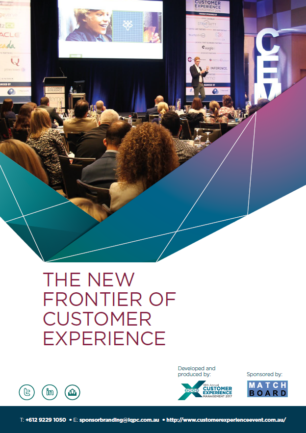 Report: The new frontier of customer experience: what's driving change in Customer Experience in 2017 and how are Australian organisations responding?
