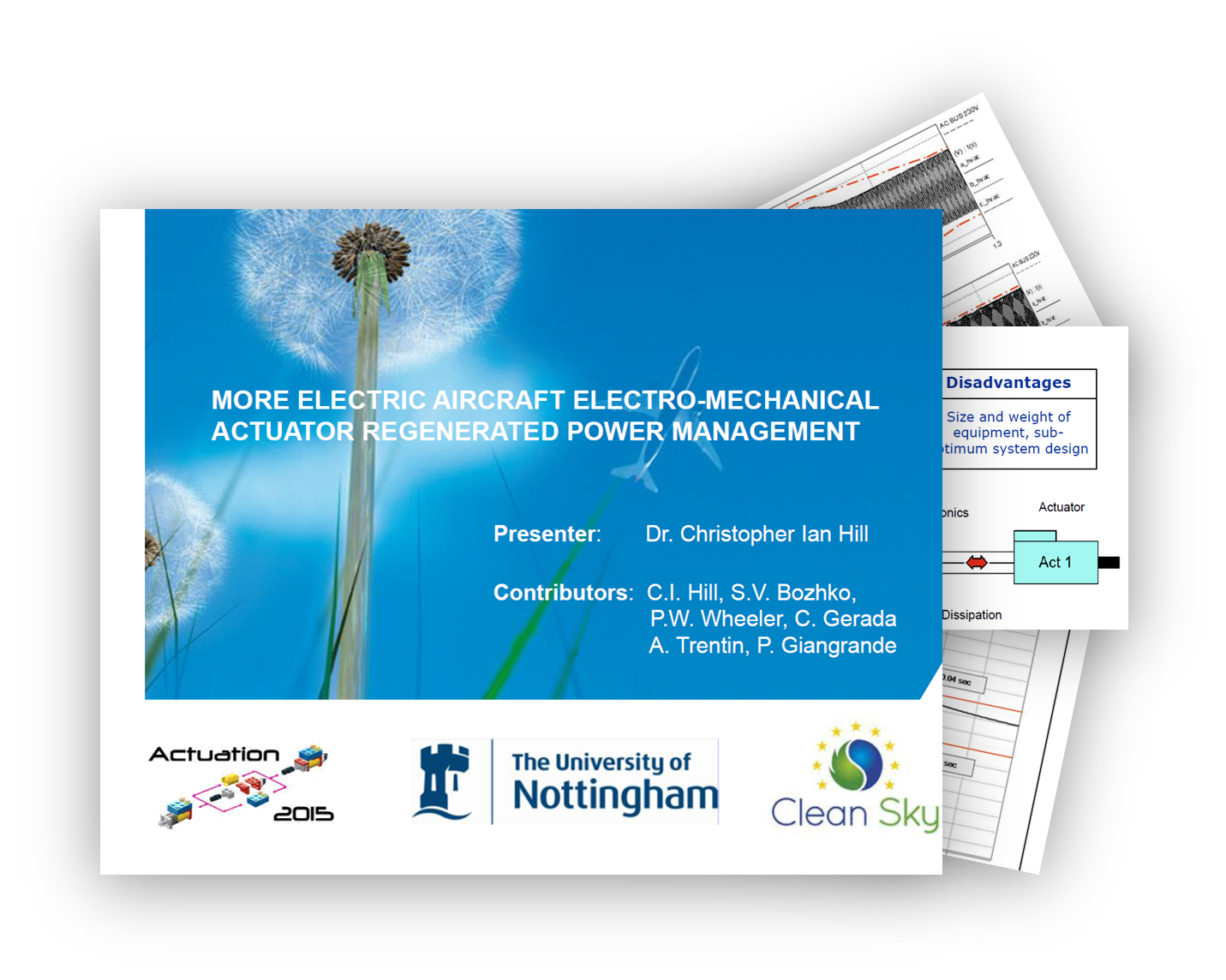 More Electric Aircraft Electro-Mechanical Actuator Regenerated Power Management