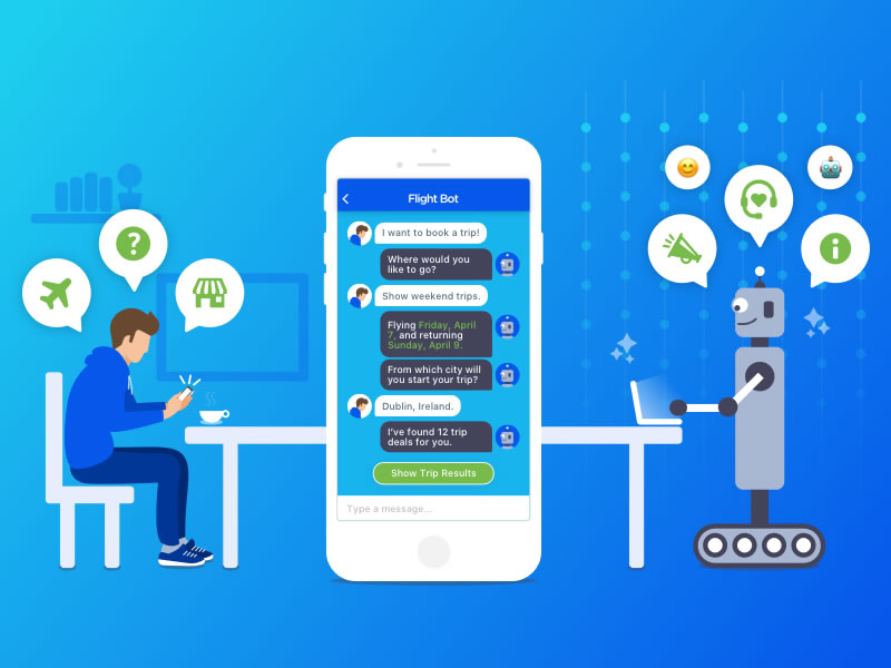 Intelligent Chatbot Virtual 2021