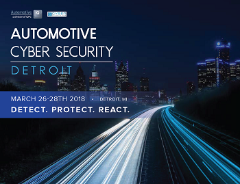 Automotive Cyber Security Agenda 2018