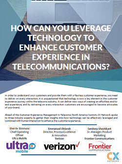 Leveraging Technology to Enhance Customer Experience in Telecommunications