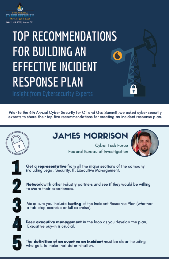 Cyber Security Experts Share Top Recommendations for Building an Effective Incident Response Plan