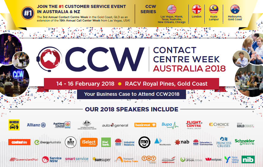 Contact Centre Week 2018 Business Case