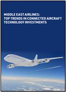Middle East airlines: Top trends in connected aircraft technology investments