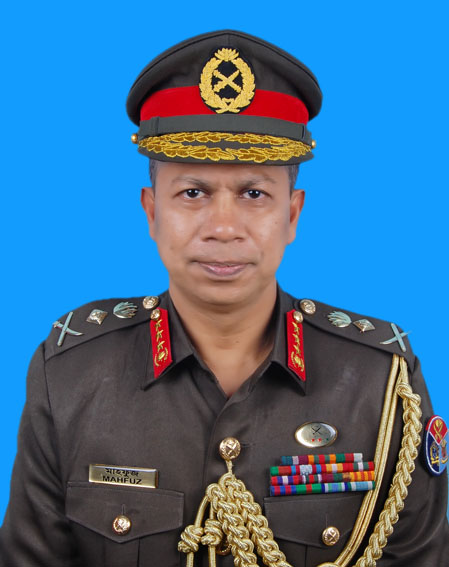 Lieutenant General Md Mahfuzur Rahman