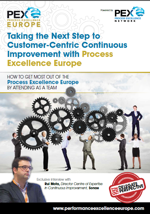 Taking the Next Step to Customer-Centric Continuous Improvement with Process Excellence Europe