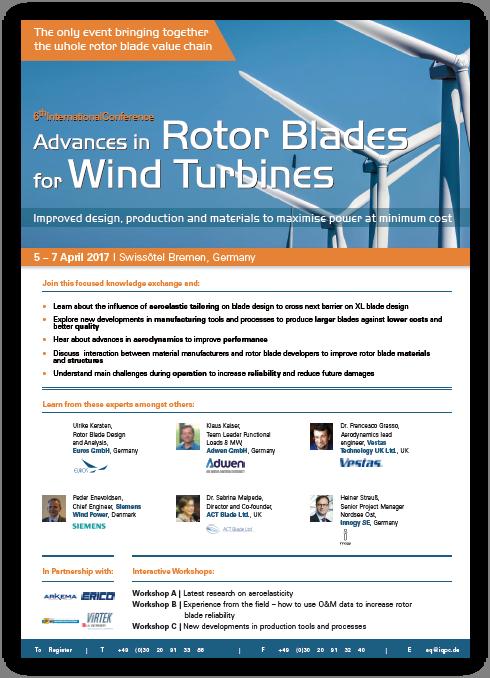 Rotor Blades 2017 Agenda