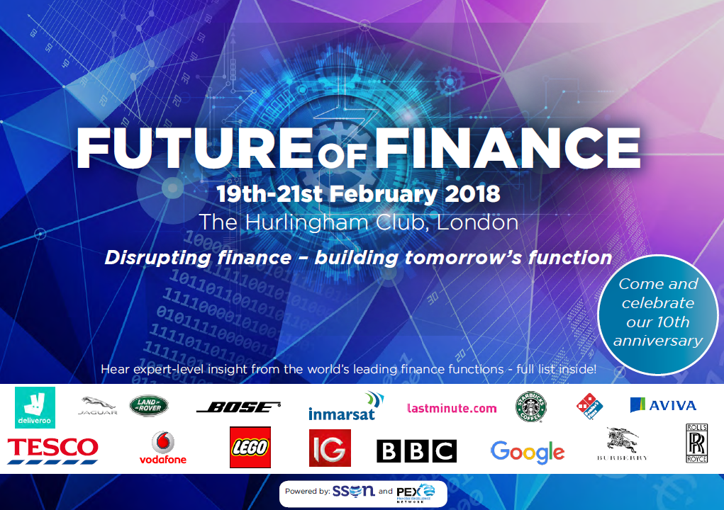 Download The Future of Finance 2018 FULL Agenda!