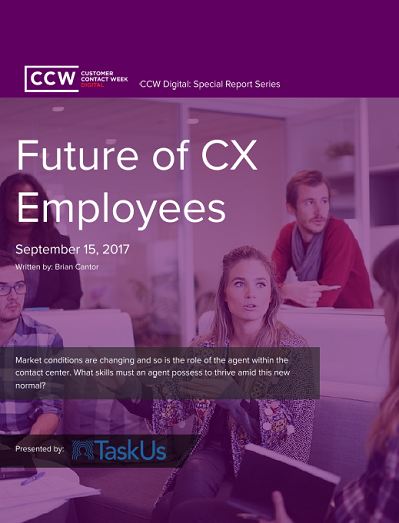 Special Report: Future of CX Employees