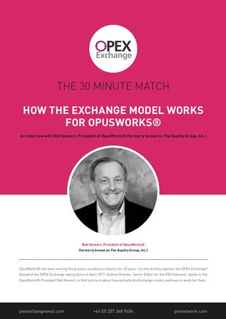 How the Exchange Model Works for OpusWorks