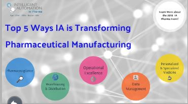Interactive Report: Top 5 Ways Intelligent Automation is Transforming Pharmaceutical Manufacturing