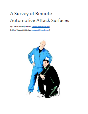 A Survey of Remote Automotive Attack Surfaces