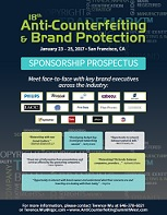 18th Anti-Counterfeiting Brand Protection Sponsorship Prospectus