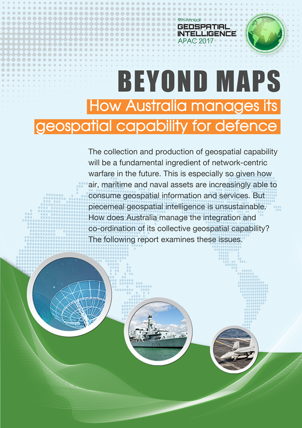 Beyond maps: How Australia manages its geospatial capability for defence