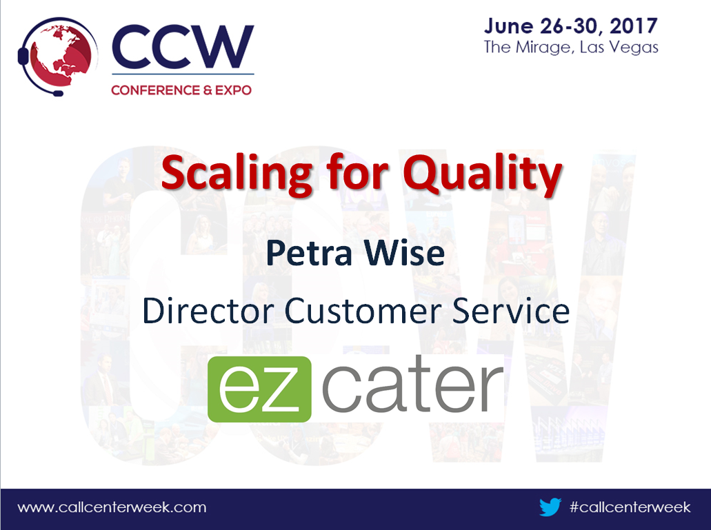 EzCater Presentation: Scaling for Quality