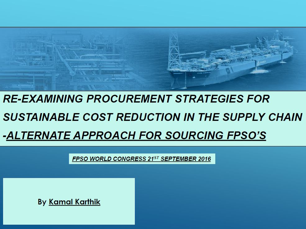 Re-examining Procurement Strategies for Sustainable Cost Reduction in the Supply Chain