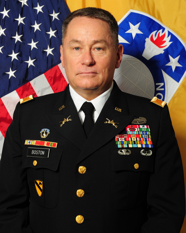 """Colonel Gerald """"Andy"""" Boston"""