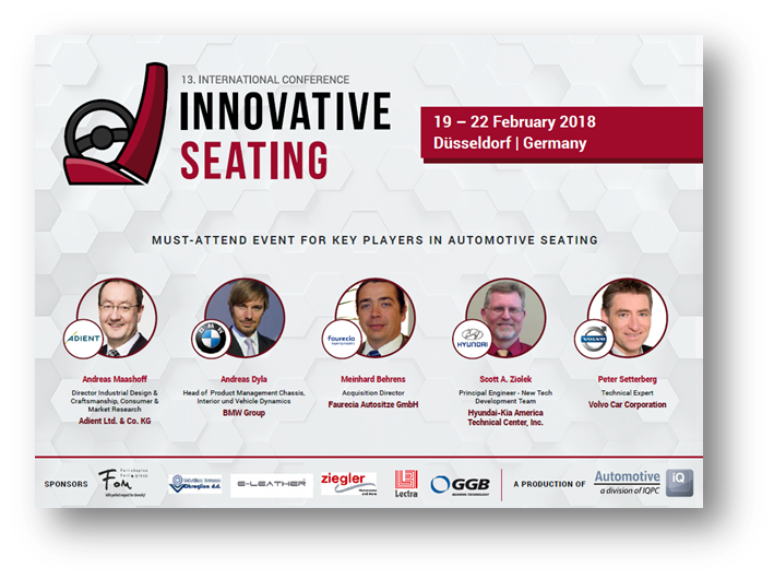 Innovative Seating Agenda 2018