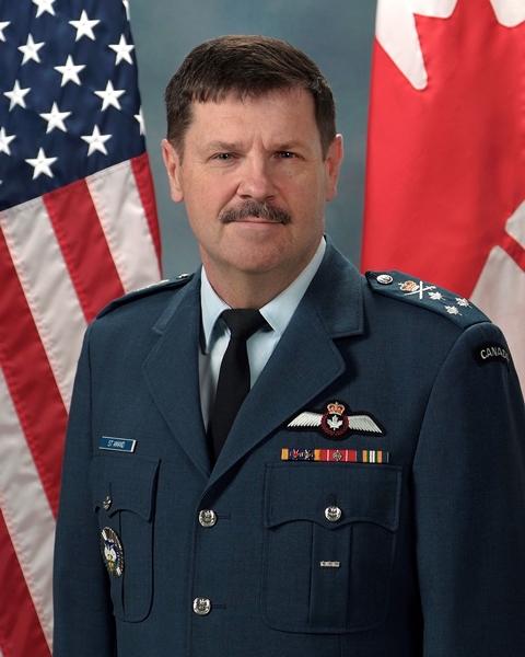 Lieutenant-General Pierre St-Amand (RCAF)