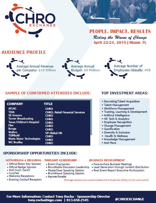 2018 Sponsorship Opportunity