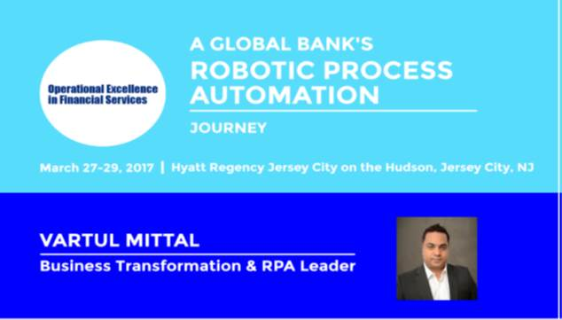 A Global Bank's Robotic Process Automation Journey